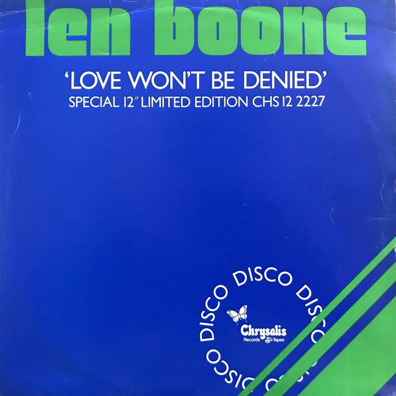 LEN BOONE
