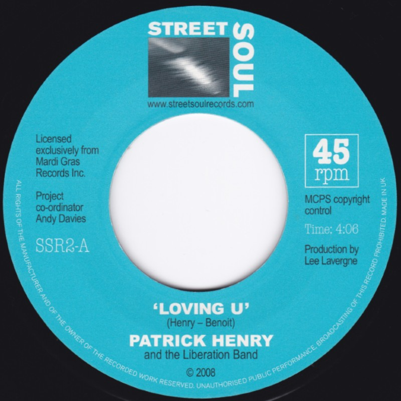 PATRICK HENRY LOVING U