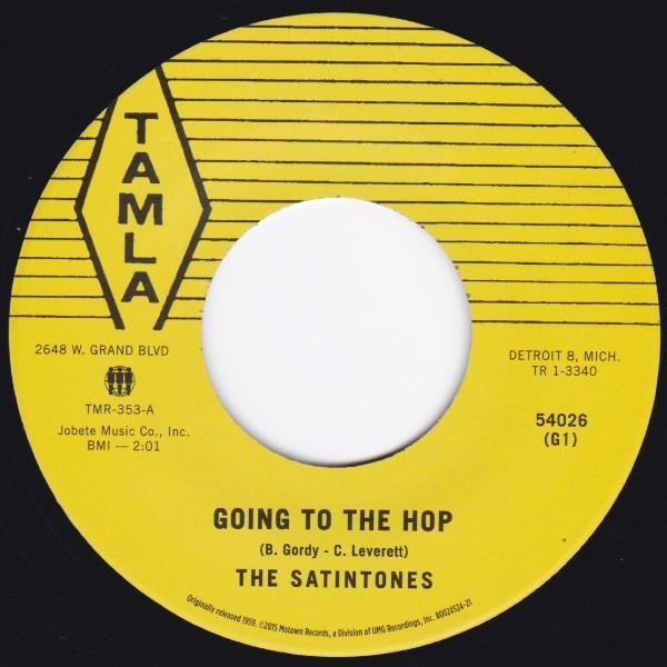 SATINTONES GOING TO THE HOP