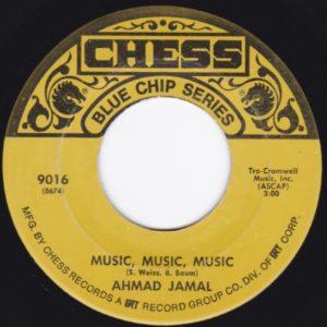 AHMAD JAMAL MUSIC