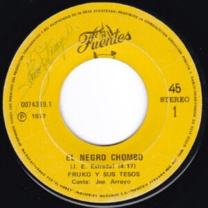 EL NEGRO CHOMBO