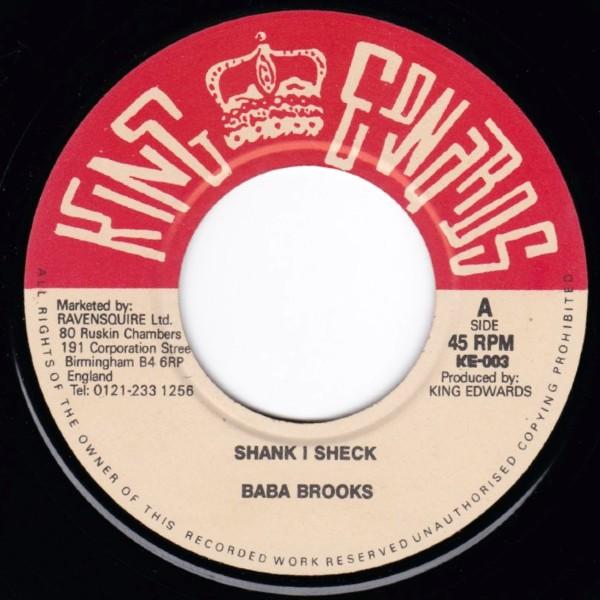 BABA BROOKS SHANK I SHECK
