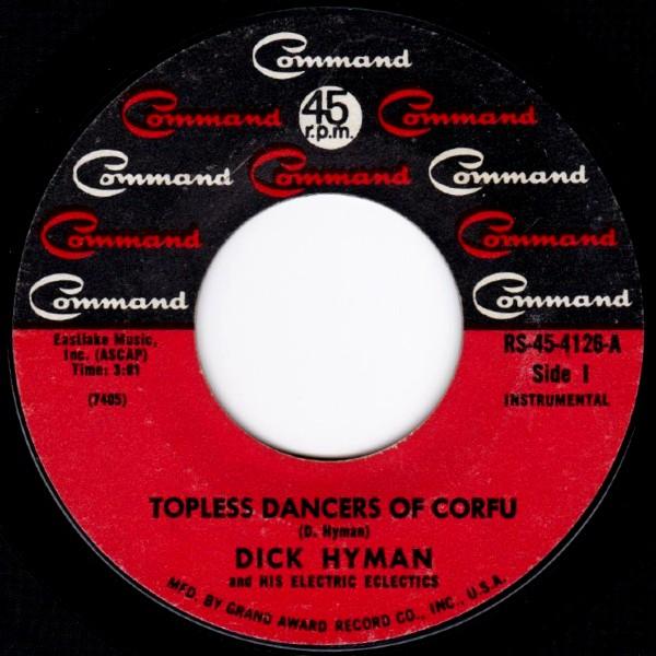 DICK HYMAN TOPLESS DANCERS OF CORFU