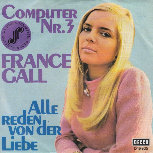 FRANCE GALL COMPUTER NR. 3